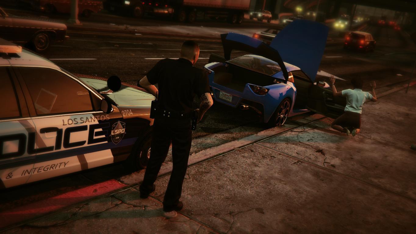 Enhanced LSPD Cop - GTA5-Mods com